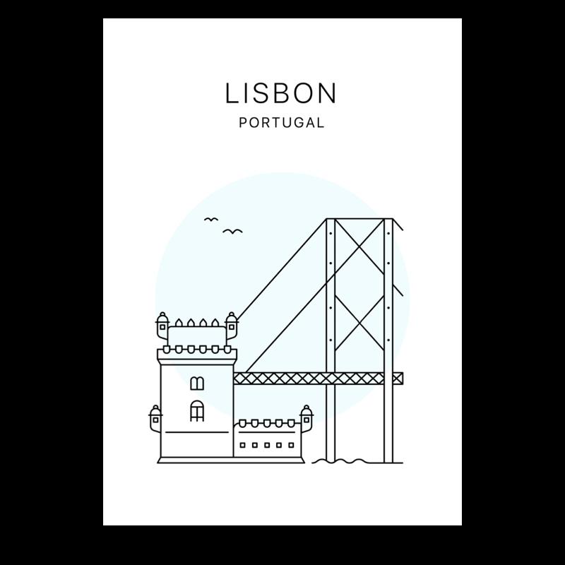 Lisbon poster